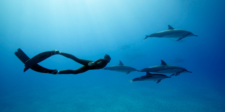 Hanli Prinsloo Freediving