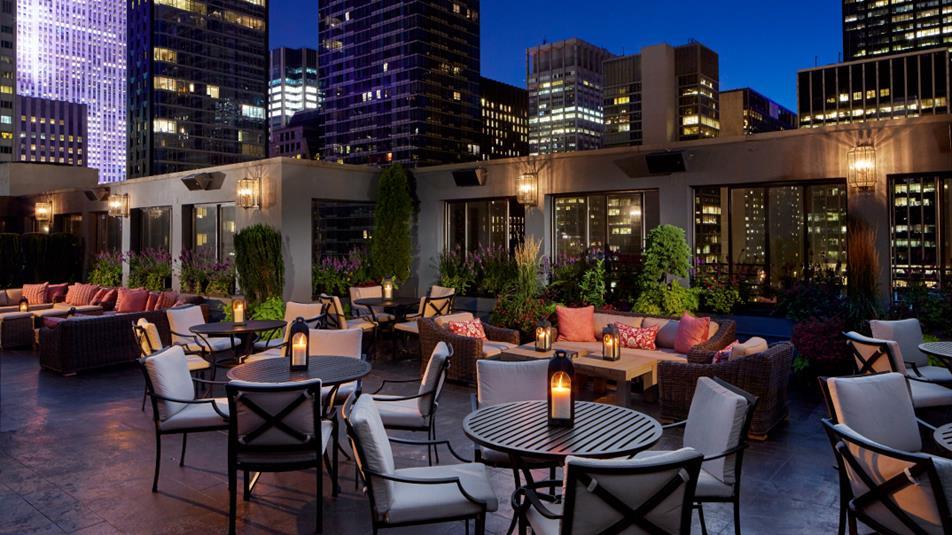 pensula rooftop bar