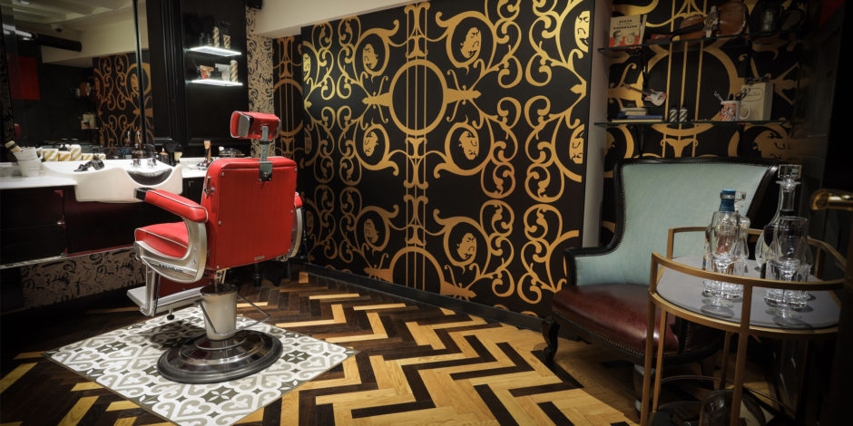 Ted's grooming room barber london mayfair luxury