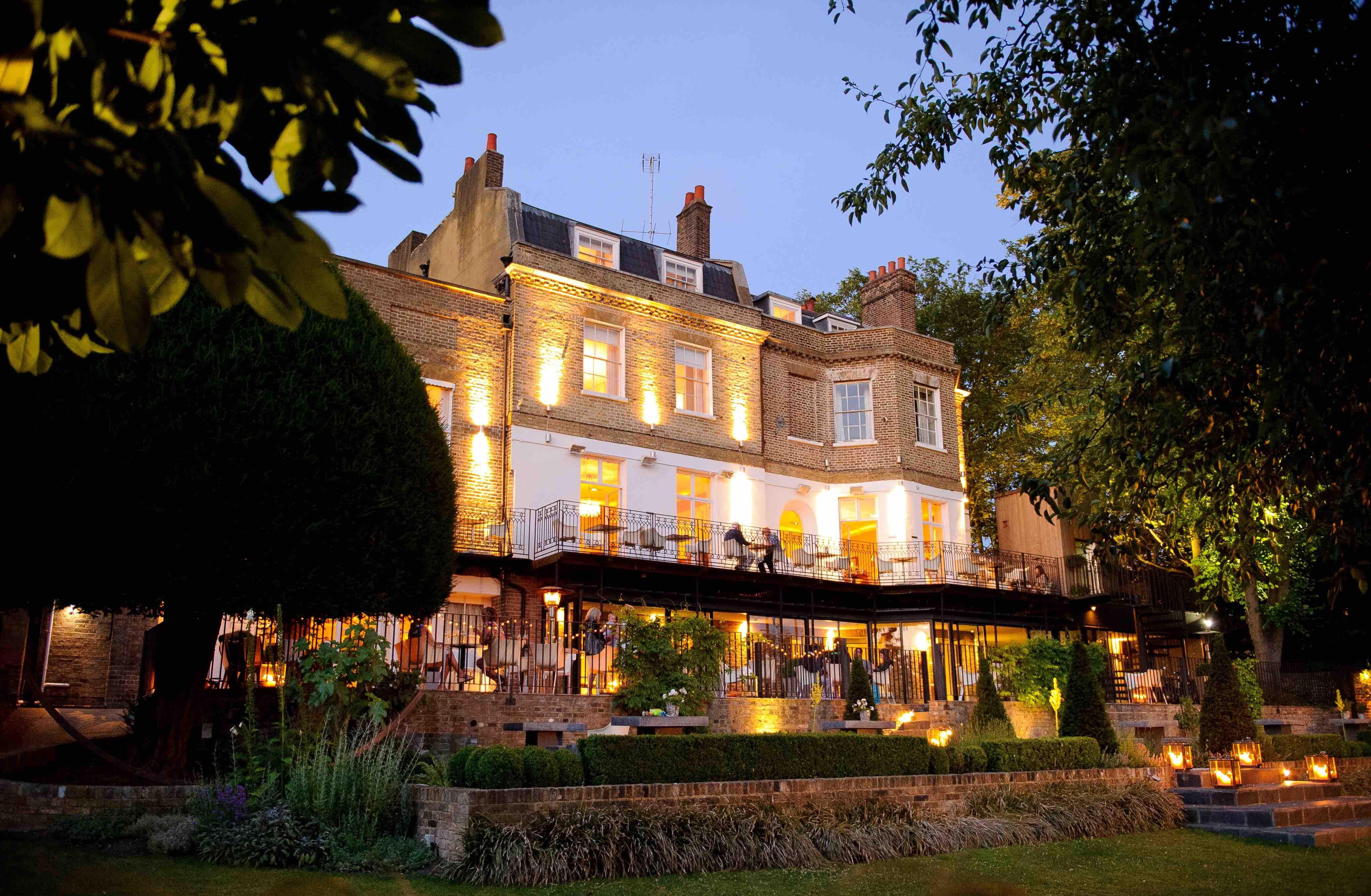Bingham Riverhouse Richmond hotel hedgebrunch staycation